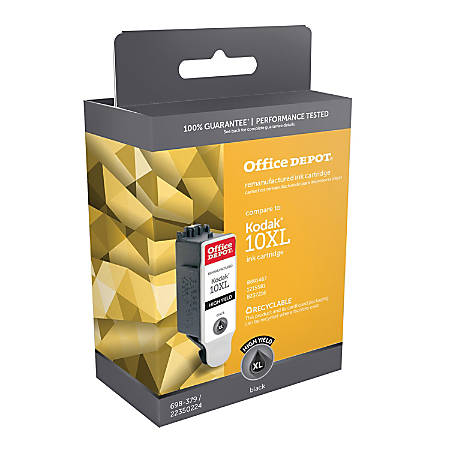 Office Depot® Brand OD1467 (Kodak 10XL) Remanufactured Black Ink Cartridge
