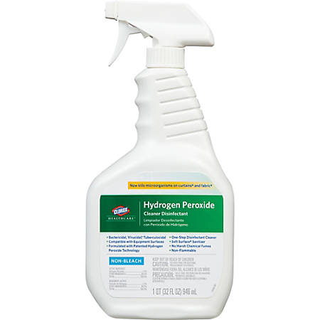 Clorox® Healthcare® Hydrogen-Peroxide Disinfecting Cleaner, 22 Oz