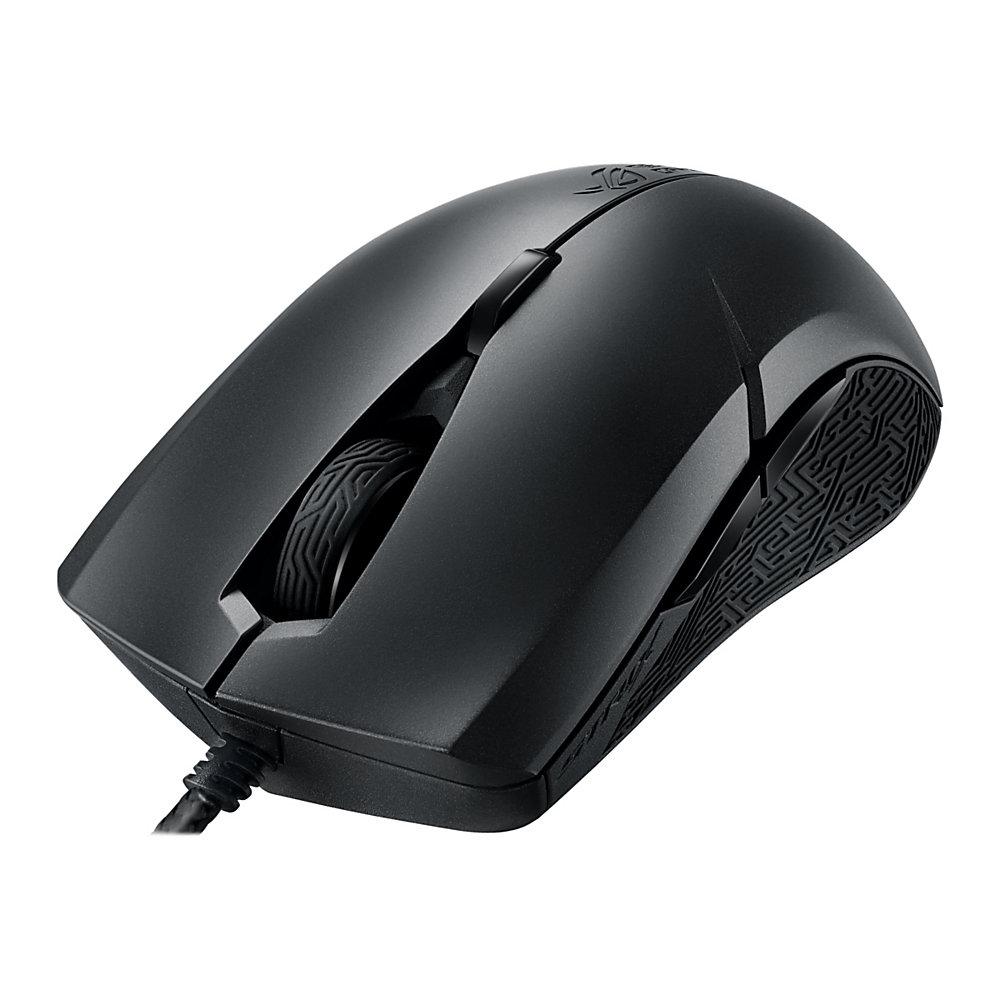 ASUS ROG Strix Evolve - Mouse - left-handed - optical - 8 buttons - wired - USB