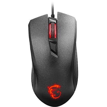 MSI™ Clutch GM10 Gaming Mouse, Black