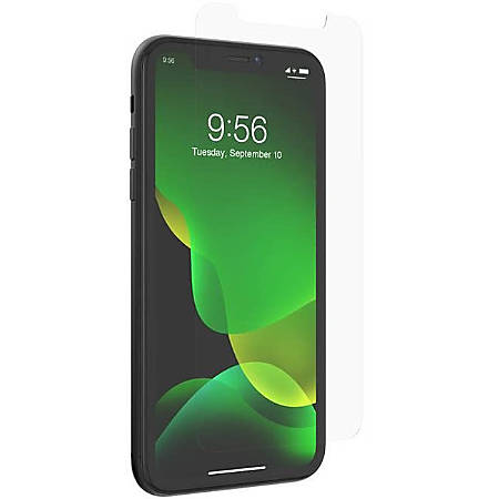 invisibleSHIELD Glass Elite VisionGuard+ Screen Protector - For LCD iPhone 11 - Impact Protection, Scratch Resistant, Fingerprint Resistant, Smudge Resistant, Oil Resistant - Glass