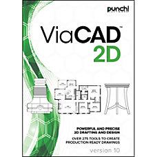 Punch ViaCAD 2D v10 for MAC