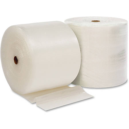 "Sparco Bulk Bubble Cushioning Roll in Bag - 24"" Width x 300 ft Length - 0.2"" Bubble Size - Clear"