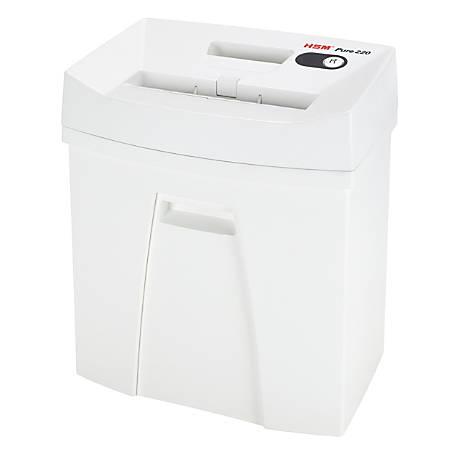 HSM Pure 220 Strip-Cut Shredder - Strip Cut - 13-15 Per Pass - 5.3 gal Waste Capacity