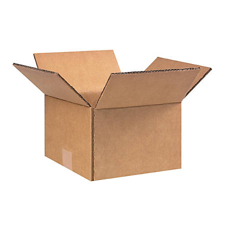 """Office Depot® Brand Double-Wall Heavy-Duty Corrugated Cartons, 9"""" x 9"""" x 6 1/2"""", Pack Of 25"""