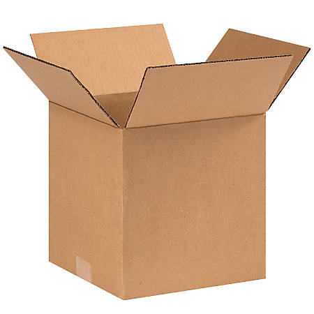 """Office Depot® Brand Corrugated Boxes, 9""""L x 9""""W x 9""""H, Kraft, Pack Of 25"""