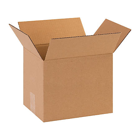 """Office Depot® Brand Corrugated Boxes, 10""""L x 8""""W x 8""""H, Kraft, Pack Of 25"""