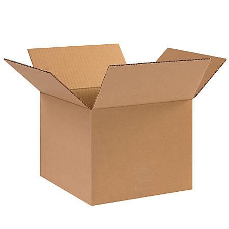 "Office Depot® Brand Corrugated Cartons, 10"" x 10"" x 8"", Kraft, Pack Of 25"