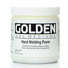 Golden Molding Paste Hard 8 Oz