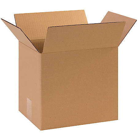 """Office Depot® Brand Corrugated Boxes, 11 1/4""""L x 8 5/8""""W x 10""""H, Kraft, Pack Of 25"""