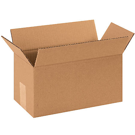 "Office Depot® Brand Long Boxes, 12""L x 6""H x 6""W, Kraft, Pack Of 25"