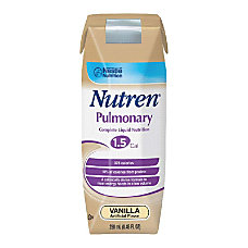 Nestl Nutritional Nutren Pulmonary Vanilla 845