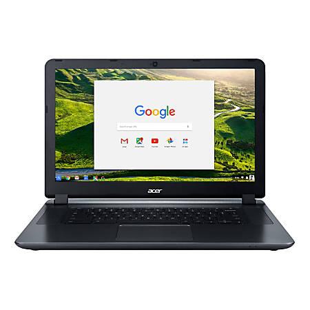 "Acer® Chromebook 15 Laptop, 15.6"" Screen, Intel® Celeron®, 4GB Memory, 32GB Flash Memory, Google™ Chrome OS"