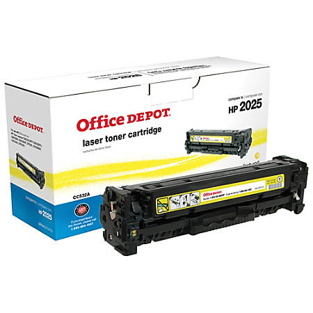 Office Depot® Brand OD2025Y (HP 304A / CC532A) Remanufactured Yellow Toner Cartridge