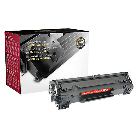 Office Depot® Brand 36AM (HP 36A / CB436A) Remanufactured Black MICR Toner Cartridge