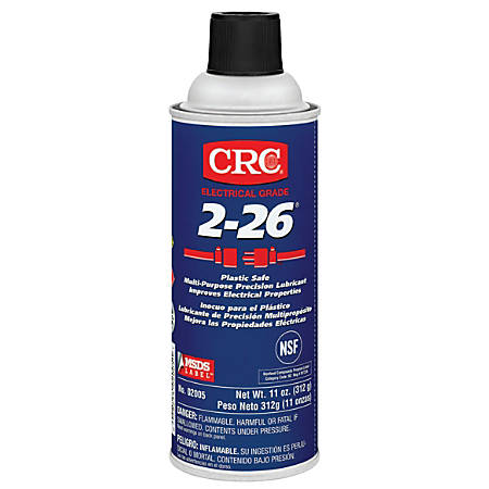 CRC 2-26® Multi-Purpose Precision Lubricants, 16 Oz Aerosol Can, Pack Of 12 Cans