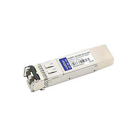 AddOn JDSU PLRXPL-SX-S43-22-N Compatible TAA Compliant 10GBase-SR SFP+ Transceiver (MMF, 850nm, 300m, LC, DOM) - 100% compatible and guaranteed to work