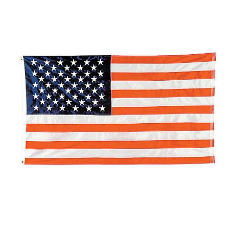 eb3b5feb9398 Integrity Flags Nylon American Flag 5 x 8 - Office Depot