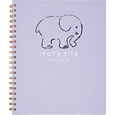 Cambridge Ivory Ella Academic WeeklyMonthly Planner