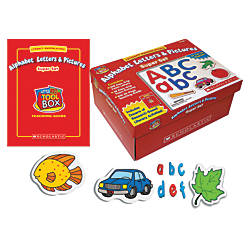 Scholastic Literacy Manipulatives Alphabet Letters And