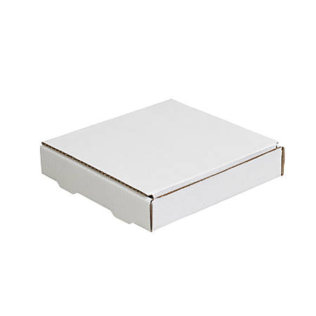 "Office Depot® Brand White Literature Mailers, 7 3/8"" x 7 3/8"" x 1 3/8"", Pack Of 50"