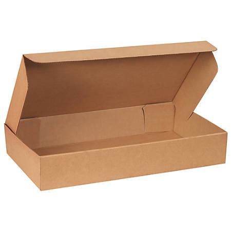 "Office Depot® Brand Corrugated Garment Mailers, 28 3/4""L x 5""H x 16""W, Kraft, Pack Of 25"