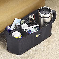 Case Logic® Front Seat Organizer, Black