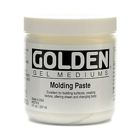 Golden Molding Paste, Standard, 8 Oz