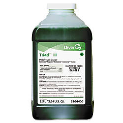 SC Johnson Triad III Disinfectant Cleaner