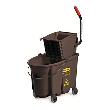 Rubbermaid® WaveBrake Bucket/Wringer Combination