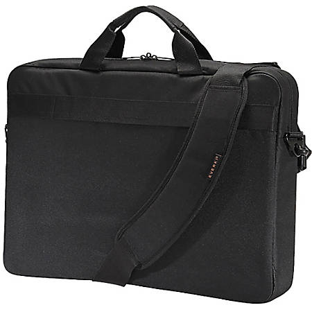 "Everki Advance Laptop Briefcase, 19.29"" x 3.15"" x 14.17"", Black"