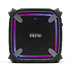 iHome Weather Tough Bluetooth Portable Speaker