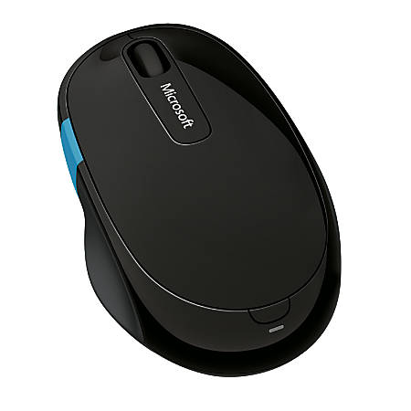 Microsoft Sculpt Comfort Wireless Mobile Mouse, Black