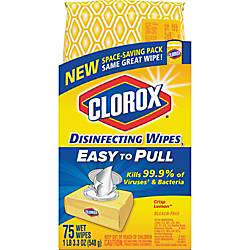 Clorox Disinfecting Wipes Crisp Lemon Scent