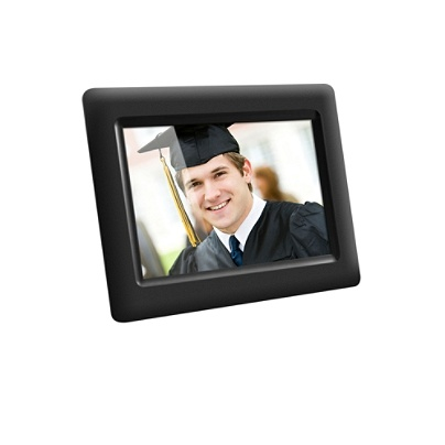 Aluratek 7 Digital Picture Frame Adpf07sf By Office Depot Officemax