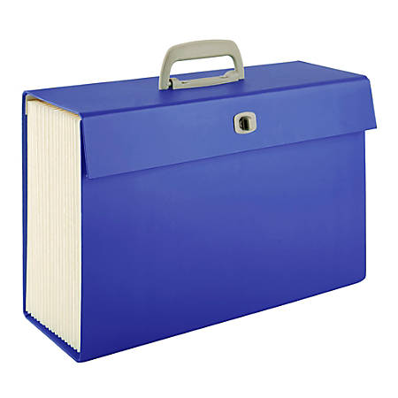 Office Depot® Brand Case File, Legal Size, Blue