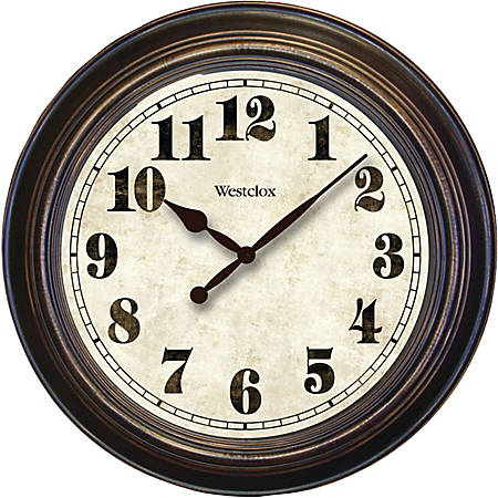 Westclox Wall Clock - Analog - Quartz