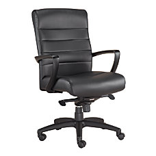 Mammoth Office Products Bonded Leather Mid