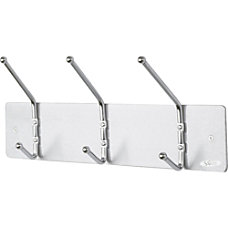 Safco Metal Wall Rack Coat Hooks