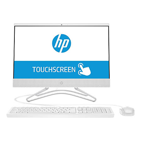 "HP 24-f0030 All-In-One PC, 23.8"" Touch Screen, AMD A6, 4GB Memory, 1TB Hard Drive, Windows® 10 Home"