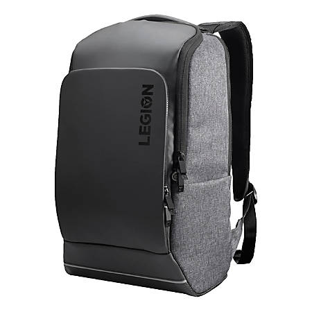 """Lenovo® Legion Recon Gaming Backpack With 15.6"""" Laptop Pocket, Black/Gray"""