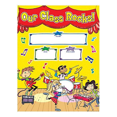 Scholastic School Rocks! Welcome Chart
