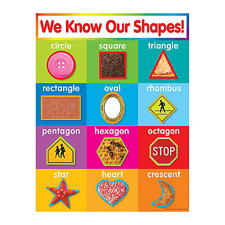 Scholastic Shapes Chart