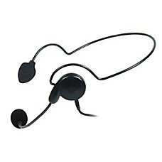 Midland AVP H5 Headset Behind the