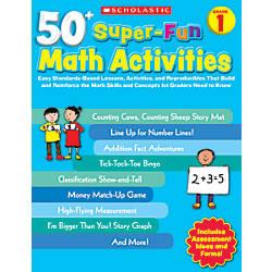 Scholastic 50 Super Fun Math Activities