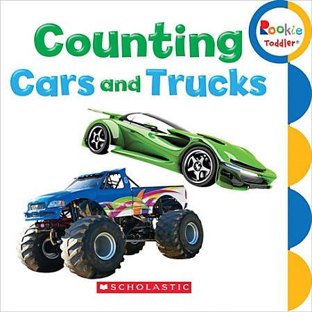 Scholastic Library Publishing Rookie Toddler, Counting Cars And Trucks