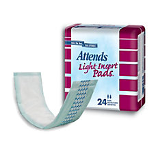 Attends Light Insert Pads 3andfrac34 x
