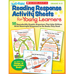 Scholastic Just Right Reading Response Activity