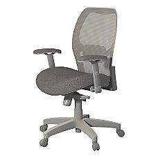 Safco Mesh Chair Gray