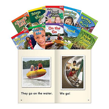 Teacher Created Materials TIME FOR KIDS® Nonfiction Book Set, Set 1, Set Of 10 Books, Grade 1
